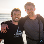 Image: Wes Haagensen (left) and Adam Nielson (right)