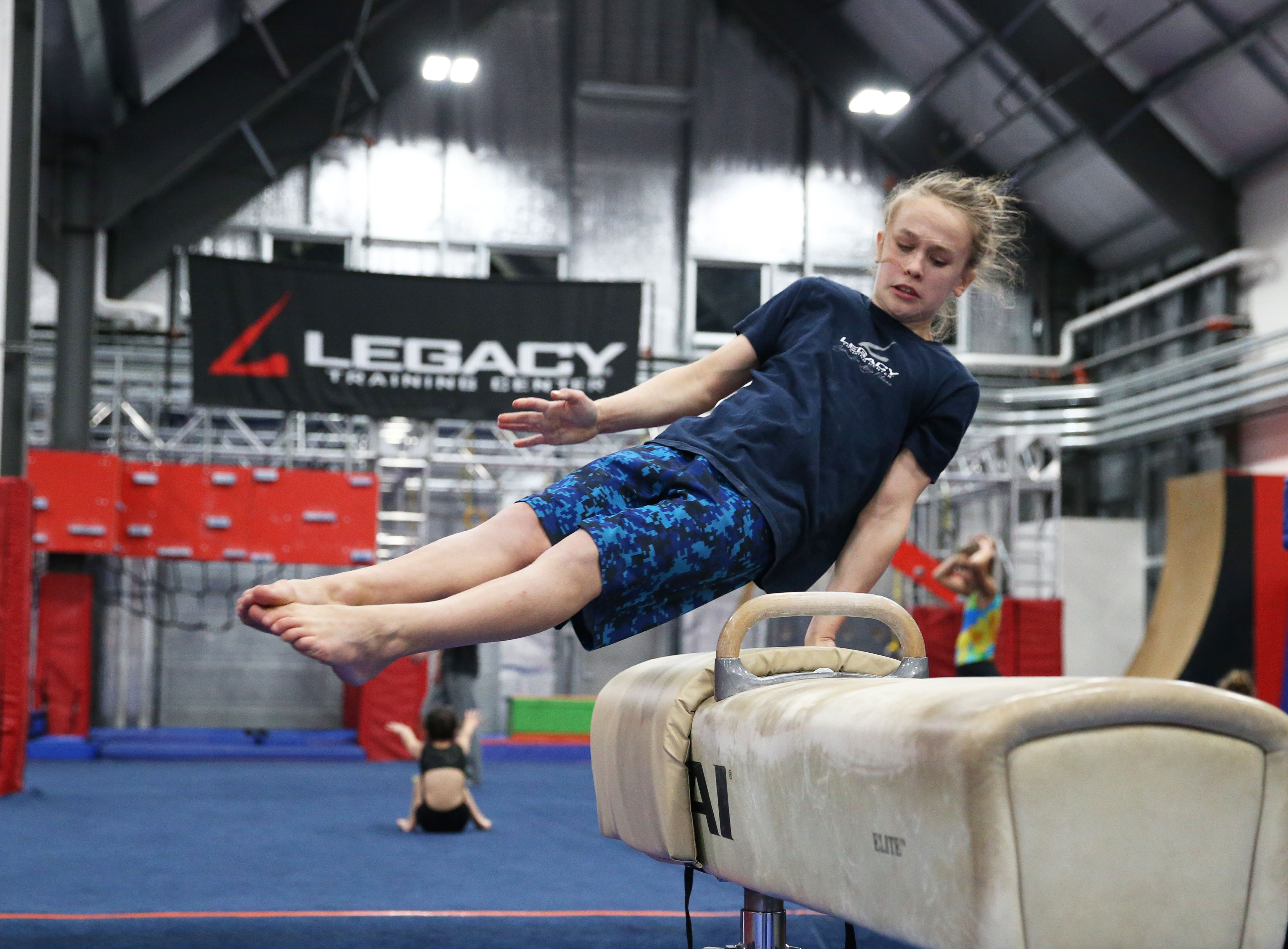 Image: Boys Developmental Gymnastics