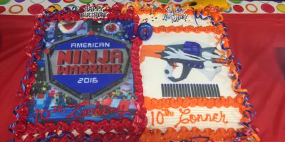 Image: Ninja Warrior Birthday Party Ideas